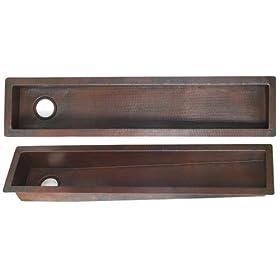 Copper Trough/Prep Sink