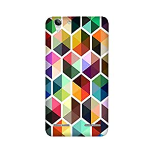 Lenovo K5 Plus Perfect fit Matte finishing Motif Pattern Mobile Backcover designed by Aaranis (Black) Perfect fit Matte finishing Motif Pattern Mobile Backcover designed by Aaranis (Multicolor)