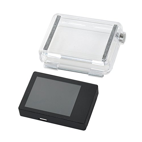 Lcd External Display Viewer Monitor For Gopro Hero 3+ With Back Case