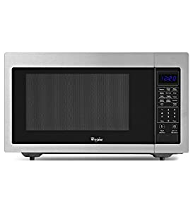 Whirlpool WMC30516AS 1.6 Cu. Ft. Stainless Steel Countertop Microwave by Whirlpool