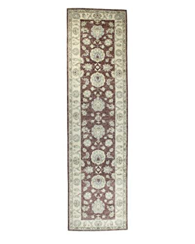 Bashian Rugs Hand-Knotted Pakistani Mansehra Rug, Light Blue, 2' 7 x 10' Runner