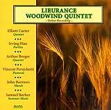 echange, troc Lieurance Woodwind Quintet - Music By American Composers