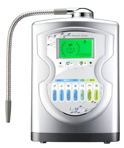 New Iontech It-757 Advanced Alkaline Water Ionizer Machine 7 Ph Water Levels By Intelgadgets. Japan Made Platinum Titanium Electrolysis Plates, Usa Made Nsf Certified Filter, Ph Test Included. Best Water Ionizer On The Market! front-351558