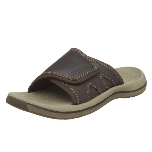 Sperry Top-Sider Santa Cruz Slide Color: Chocolate Mens Size: 10