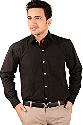 Men's Shirt Black Slim Fit