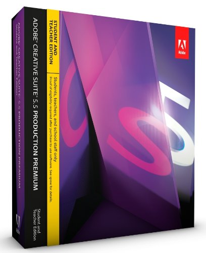 Adobe CS5.5 Production Premium Student and Teacher Edition