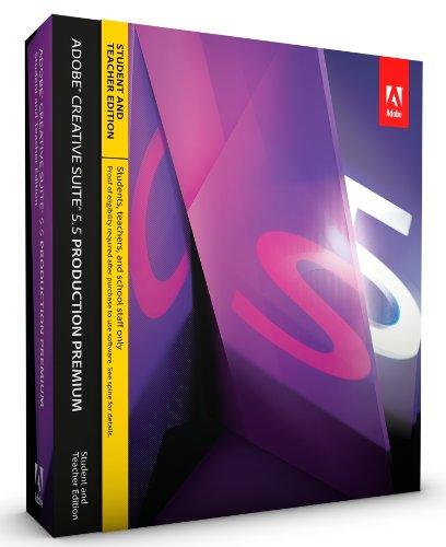 Adobe CS5.5 Production Premium Student and Teacher Edition