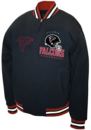 NFL Mens Atlanta Falcons Hardknock Fleece Jacket by MTC Marketing, Inc