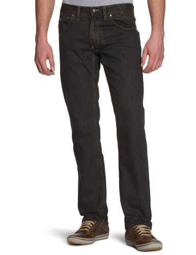 Globe Jeans da uomo Cross, Blu (stone wash), 28