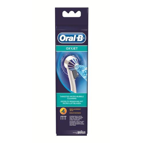 Braun Oral-B Ersatzdüsen OxyJet 4er (neues Modell 2010)