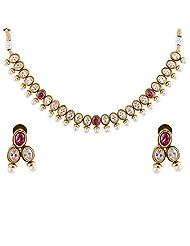 Bhagwathi Antique Necklace Set (BGPS0014)