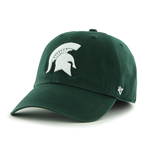 Ncaa Michigan State Spartans '47 Brand New Franchise Fitted Hat, Dark Green, X-Large front-945164