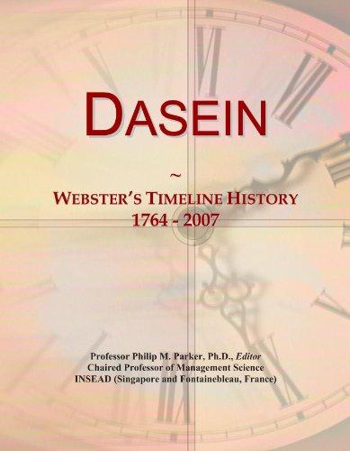 dasein-websters-timeline-history-1764-2007