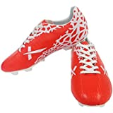 Vector X Wave Football Shoes (White-Red)