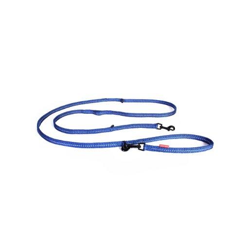 EzyDog Vario 6 Lite Multi-Function Guinzaglio, blu