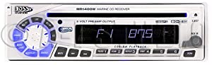 BOSS Marine CD AM FM Receiver - White