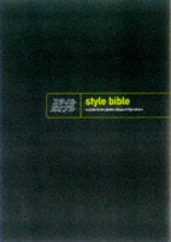 The Style Bible, Alon Shulman