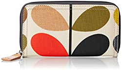 Orla Kiely Multi Stem Big Zip Wallet