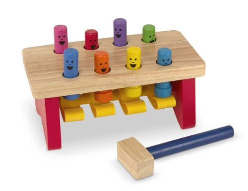 Melissa & Doug Deluxe Pounding Bench by Bobfriend - 1
