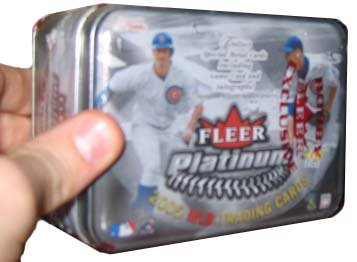 2005 Fleer Platinum Baseball HOBBY Box – 18P5C