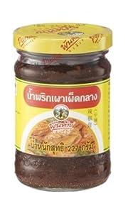 Thai Pantainorasingh Chilli Paste In Oil Medium Spicy 227g L from Pantainorasigh