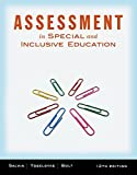 img - for Cengage Advantage Books: Assessment: In Special and Inclusive Education by John Salvia (2012-01-01) book / textbook / text book