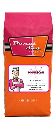 Donut shop Coffee, Double Caff, Whole Bean, 12 Ounce (Donut Shop Whole Bean Coffee compare prices)
