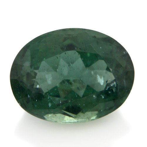 Natural Green Apatite Loose Gemstone Oval Cut 11*9mm 4.65cts SI Grade Amazing