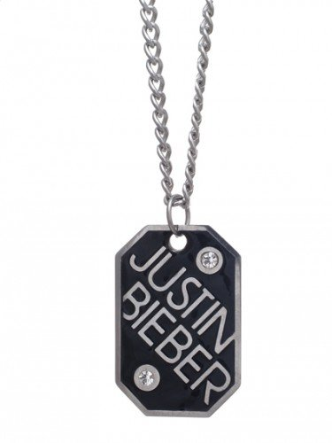 Justin Bieber Dog Tag Necklace