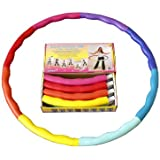 Weight Loss Sports Hoop® Series: Acu Hoop® 4M - 3.8lb (1.7kg) Medium, Weighted Fitness Exercise Hula Hoop