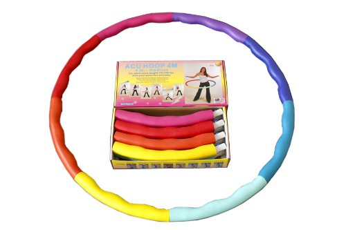 Weighted Sports Hula Hoop for weight loss - Acu Hoop 4M - 4 lb. medium from Sports Hoop Inc. - Exercise Bike Review