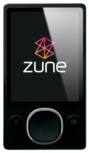 Zune 80 GB Digital Media Player Black (2nd Generation)
