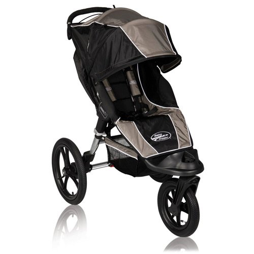 Baby Jogger Summit XC Single Stroller, Sand/Black