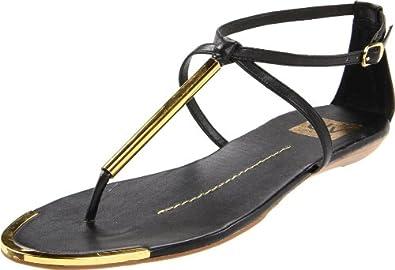 DV by Dolce Vita Women's Archer Sandal,Black Stella,6 M US