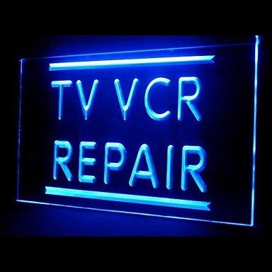 Tv Vcr Advertising Led Light Sign