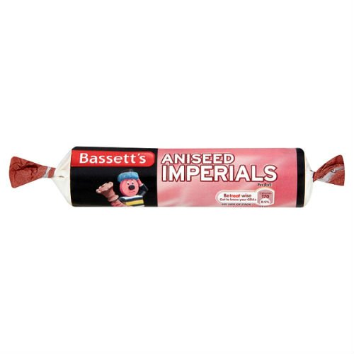 Bassett's Aniseed Imperials 43G Case Of 40 (Aniseed Imperials compare prices)