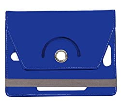 Blue Stylabs Tablet Book Flip Case Cover For iBall Slide 3g 7271 (Universal)