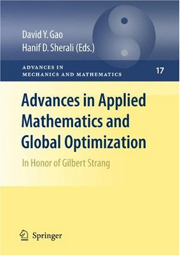 Advances in Applied Mathematics and Global Optimization: In Honor of Gilbert Strang