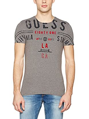 Guess Camiseta Manga Corta Graphic (Gris)