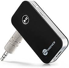 TaoTronics Bluetooth Empfänger Tragbare Bluetooth 4.0 Receiver Wireless Adapter Audiogeräte für Heim HiFi Auto Lautsprechersystem und Handy mit Stereo 3.5 mm Aux