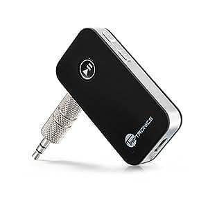 TaoTronics Bluetooth4.0オーディオレシーバー カーキッド ハンズフリー通話機能 TT-BR05