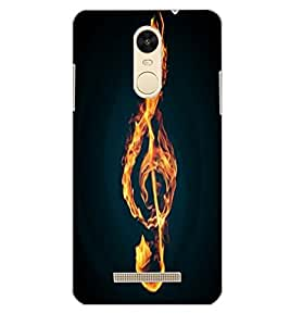 XIAOMI REDMINOTE 3 FIRE Back Cover by PRINTSWAG