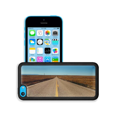 Nature Corner Endless Road Scenery Apple Iphone 5C Snap Cover Premium Leather Design Back Plate Case Customized Made To Order Support Ready 5 Inch (126Mm) X 2 3/8 Inch (61Mm) X 3/8 Inch (10Mm) Msd Iphone_5C Professional Case Touch Accessories Graphic Cove front-1069607