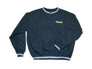 Okuma Golf Pullover Wind Shirt with embroidered Okuma High Performance on the chest by Okuma