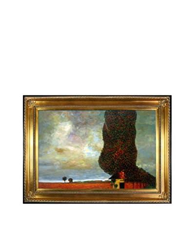 Gustav Klimt High Poplar Hand-Painted Reproduction