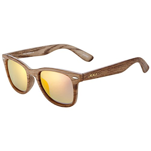 juli-polarized-sunglasses-mens-womens-original-wayfarer-vintage-style-wood-grain-frame-red-lens-wrap