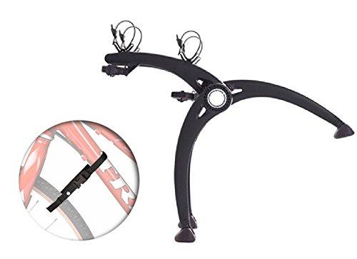 Saris 805 Bones 2-Bike Trunk Rack w/ 4 Wheel Stabilizer Straps (Black, Set) (Vw Van Roof Racks compare prices)