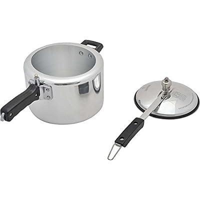 SONA Aluminum Inner Lid Pressure Cooker, 12 years warranty, ISI mark 5 Liter