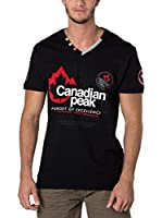 CANADIAN PEAK Camiseta Manga Corta Jommando (Negro)
