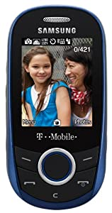 Samsung T249 Prepaid Phone, Blue (T-Mobile)